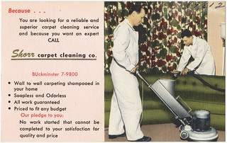 Shorr Carpet Cleaning Co. | by Boston Public Library