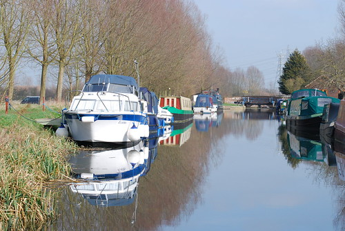 Boats Moored at Sandford Mill Lock 2012 | by Spitfire13