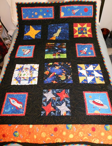 Space quilt finished i finished the space quilt for my for Space quilt pattern