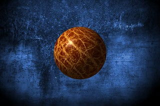 Rhino Leather Ball on Blue - PLEASE SEE REDO HERE - http://www.flickr.com/photos/dg_pics/6992396360/in/photostream | by † David Gunter