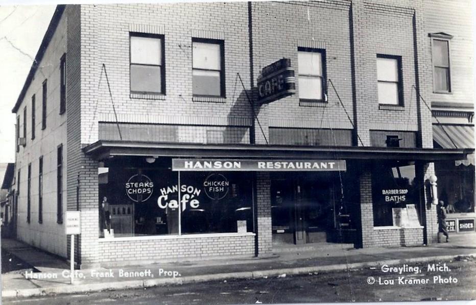 Hanson Restaurant Grayling Mi Kenny Jones Flickr