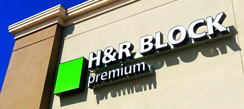 H&R Block Sign Office Location H&R Block Premium location. | by JeepersMedia