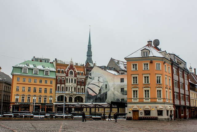 Riga, capital de Letonia