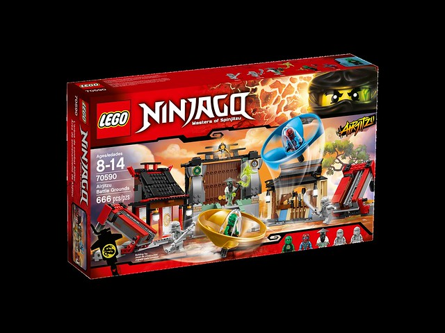 LEGO Ninjago 70590 - Airjitzu Battle Grounds