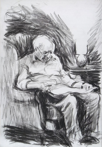 Man reading the newspaper | by Clive Holloway