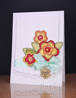 Quilted Flowers | by Nerina's Cards