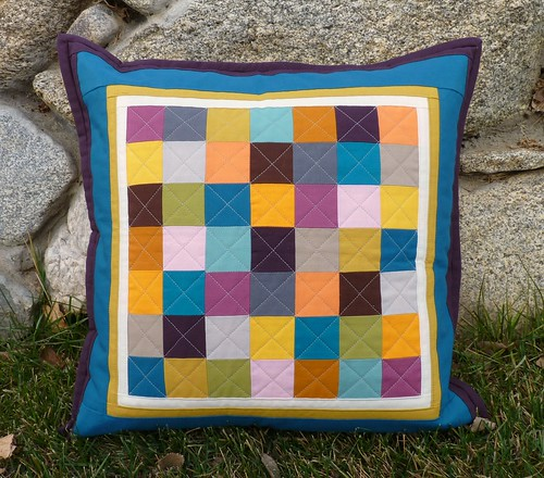 Solids Squared Pillow | by mjandco