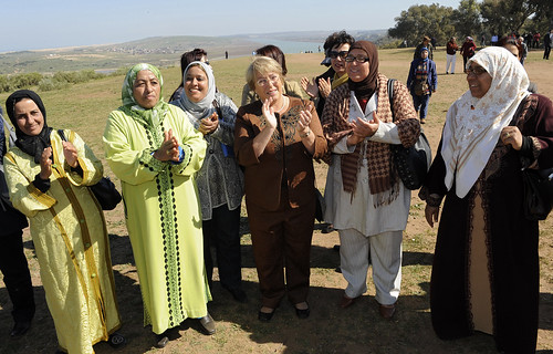 UN Women Executive Director Michelle Bachelet Visits Rural Women's Land Rights Project in Morocco | by UN Women Gallery