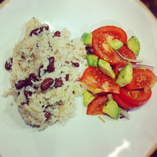 how to make jamaican red beans and rice