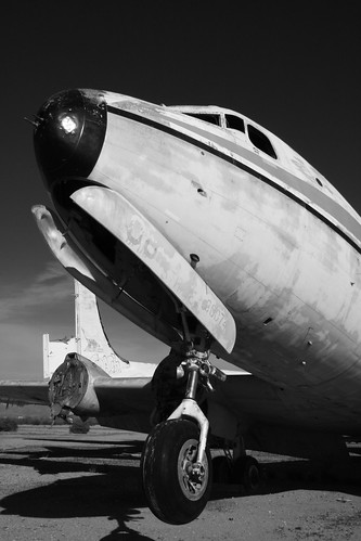 C-54 at Chandler Memorial, Arizona | by flyingaxel