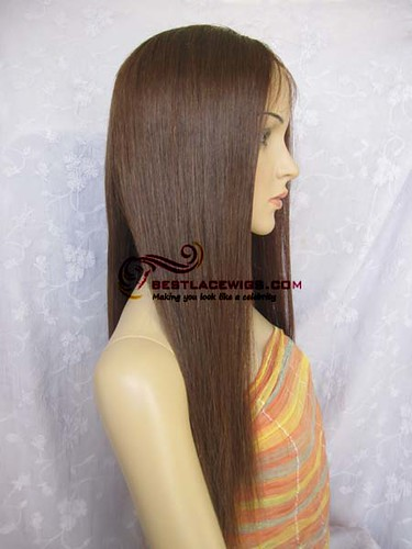 sw027 chinese virgin remy full lace wigs 4# | stock wig No ...