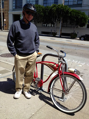 Owner & his 1951 Schwinn | by calitexican