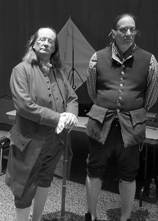 Benjamin Franklin and John Harris | by PA Trails of History