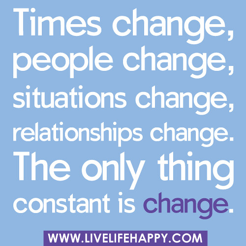 Quotes On People Changing In Relationships