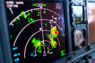 Thunderstorms - Boeing 737 Weather Radar | by gc232
