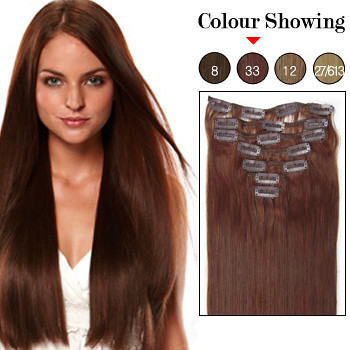 20 inch 7pcs dark auburn 33 remy clip in hair extensions flickr 20 inch 7pcs dark auburn 33 remy clip in hair extensions by loveinhair pmusecretfo Image collections
