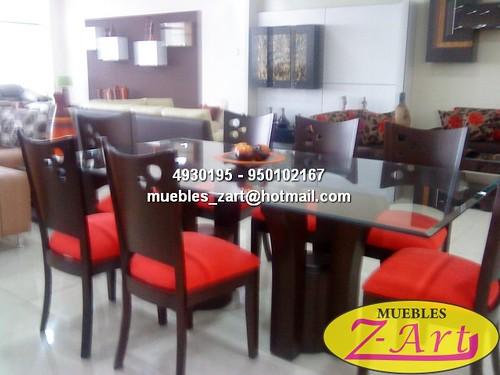 Comedor alcantara muebles de sala modernos muebles for Muebles para sala comedor modernos