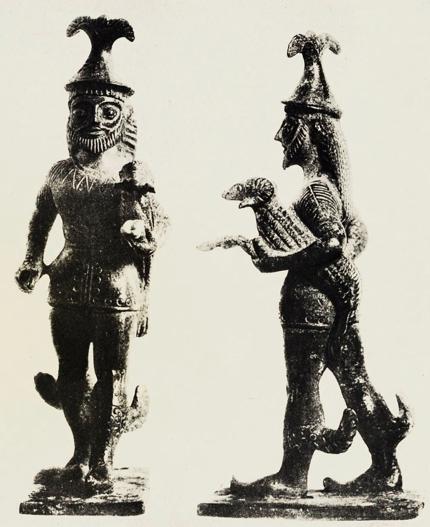 The First Known Depiction Of The Archaic Hellenistic God H Flickr