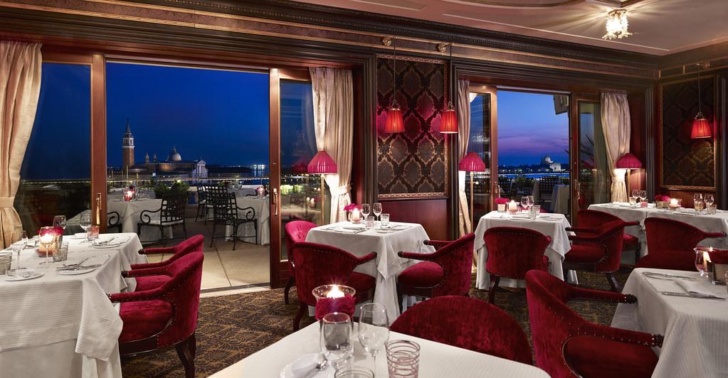 Restaurant Terrazza Danieli In The Evening Where East Meet