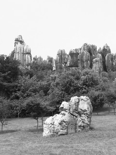 B&W The UNESCO Stone Forrest of Yunnan | by stuartpaterson