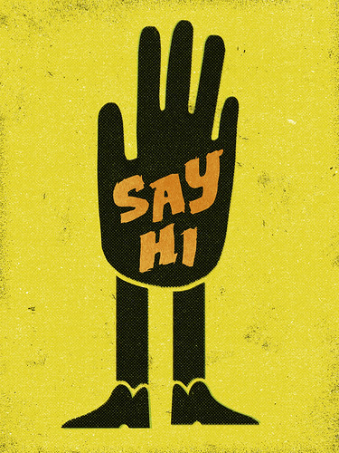 Say Hi. | by NELSONICBOOM