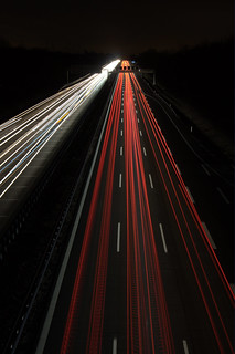 A8 Exit 55 - LED lights | by Dirk Gently