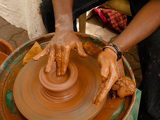 Potter's wheel | by calamur