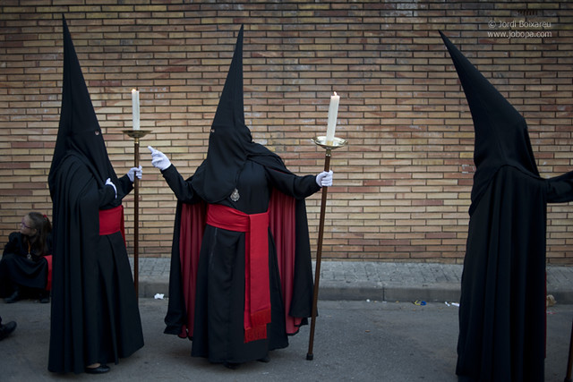 Good Friday procession in Spain