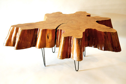 Reclaimed Tree Stump Coffee Table By Mfeo This Beautiful