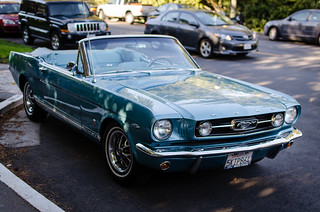 Classic 1966 Ford Mustang Convertible | by morozgrafix