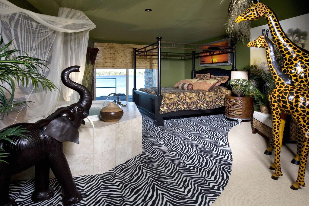 the african safari theme suite by delton grand resort african themed furniture