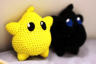 Super Mario Brothers: Luma Crochet Dolls | by deadcraft