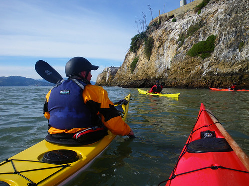 paddling around Alcatrez | by red alder ranch