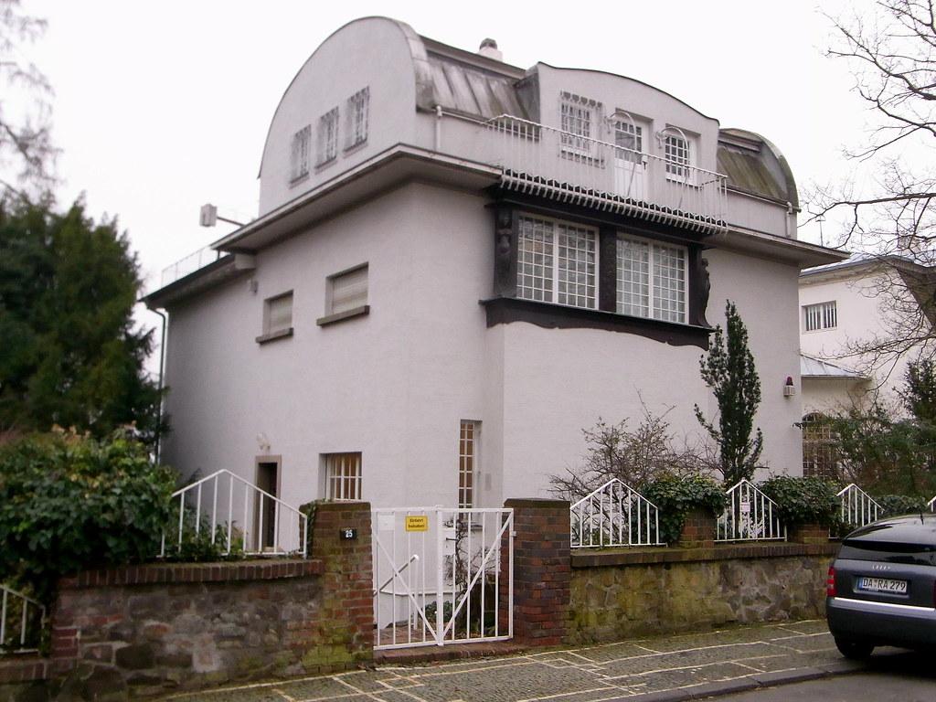 Kleines Glückert-Haus | Mathildenhoehe, Darmstadt, Germany | Flickr