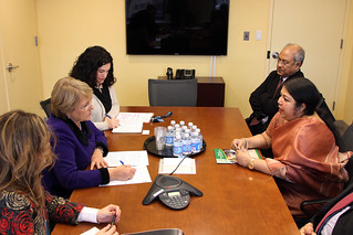 UN Women Executive Director Michelle Bachelet meets with Shirin Sharmin Chaudhury, State Minister for Women and Children Affairs of Bangladesh | by UN Women Gallery