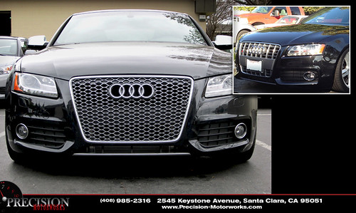 audi b8 s5 with rs5 grill new rs5 grill before and. Black Bedroom Furniture Sets. Home Design Ideas