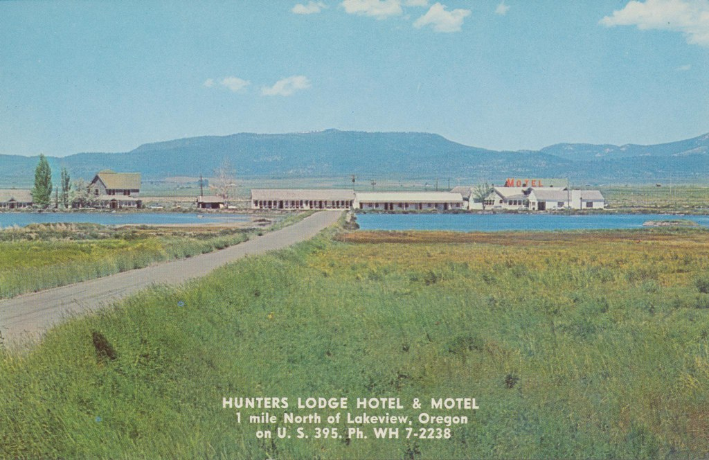 Hunters Lodge Hotel and Motel - Lakeview, Oregon