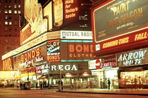 New York City 1971 - Times Square | by Gentle***Giant