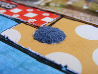 LOAD11 School Days dryer lint close-up | by EcoScrapbook