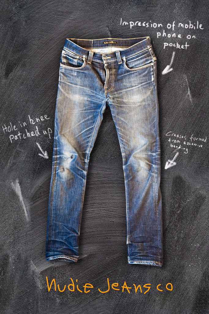 Who invented blue jeans?
