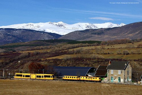 Train Jaune pour Saillagouse | by Pol Llopart