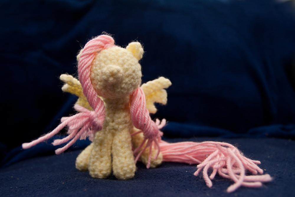 Amigurumi Fluttershy Crochet My Little Pony In Progress Flickr