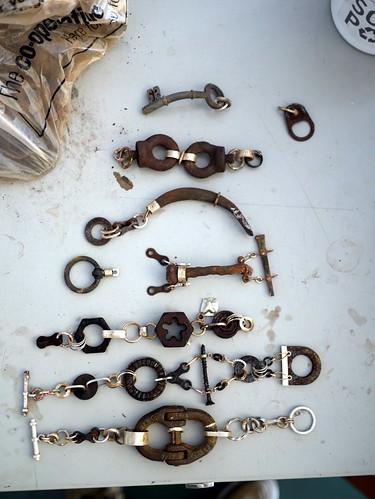Seven Macho Bracelets - WIP - 10