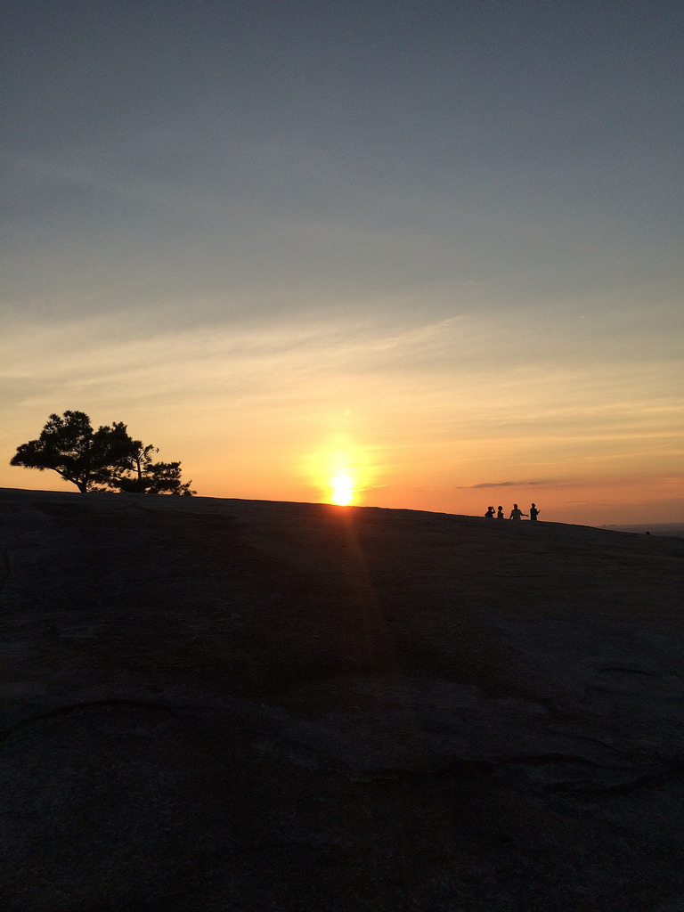Stone Mountain Sunset - Copyright Travelosio (2)
