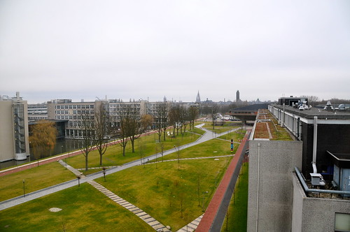 View of the Delft University campus | by Michiel2005