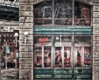 A bar in Dumbo in Brooklyn | by Dennis Herzog