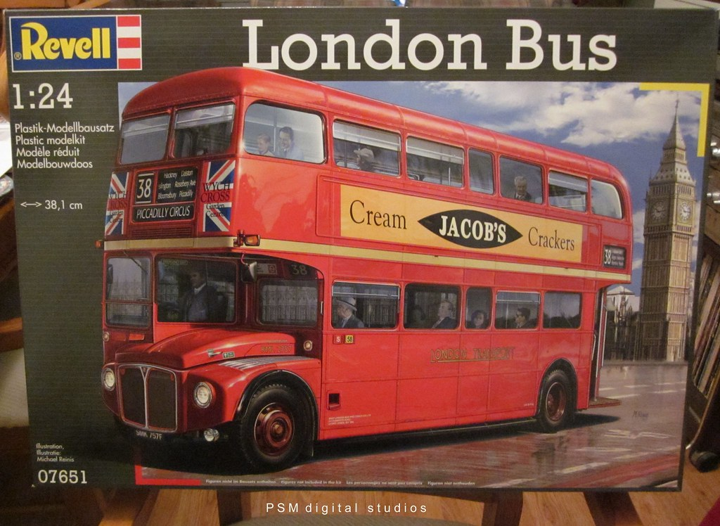 revell 1 24th scale routemaster london double decker bus build flickr. Black Bedroom Furniture Sets. Home Design Ideas