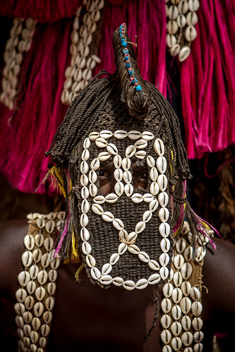 Traditional dogon mask, pays dogon, tireli, mali | by anthony pappone photography