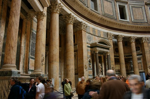 Interior of the Pantheon | by wmperry