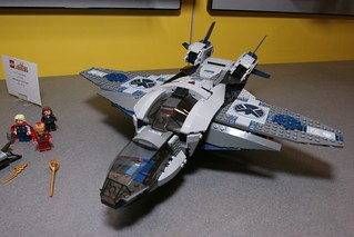 Toy Fair 2012 - LEGO Marvel Super Heroes - 6869 Quinjet Aerial Battle - 3 | by fbtb